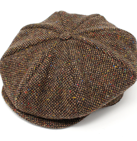 Eight Piece Cap Tweed