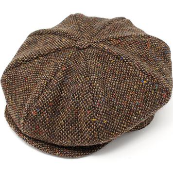 Eight Piece Cap Tweed