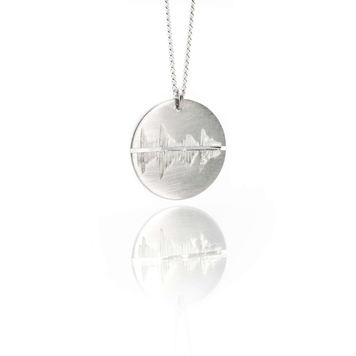 Resonate - Grafton Street on a summers day Sterling Silver pendant