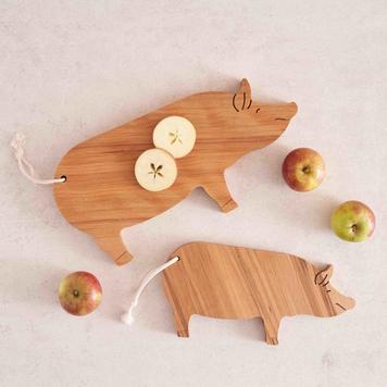 Pig Serving Board