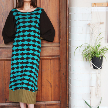 Arc Patterned Dress