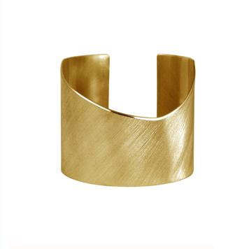 Plexus Gold Cuff Bracelet