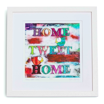 Home tweet home high quality giclee print