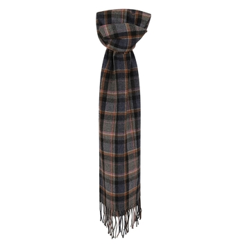 Multicoloured Plaid Scarf