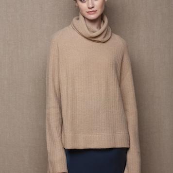 Fisherman's Swing Cashmere Sweater