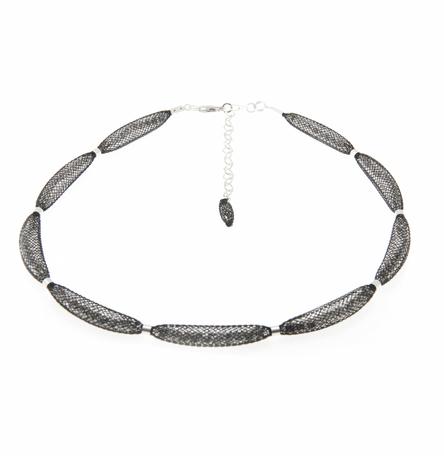 Topaz Silver Necklace