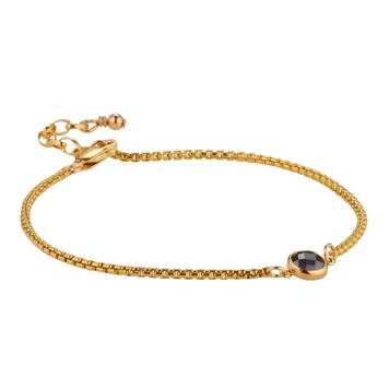 14kt GoldFill Hieroglyph Intersect Bracelet