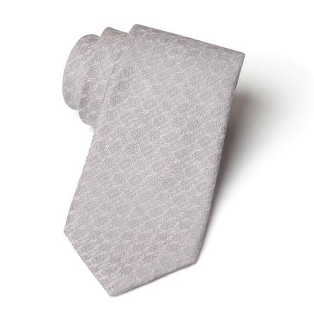 Silver Shore - Silk and Linen Woven Necktie