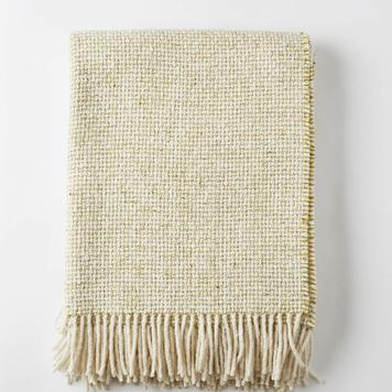 Mended Tweed Blanket