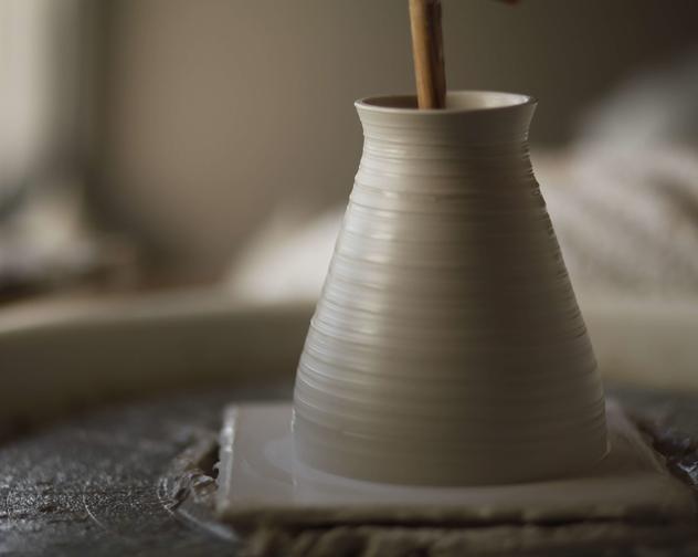 Mary Neeson Ceramics Studio shot 1