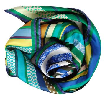Green Swirl Scarve