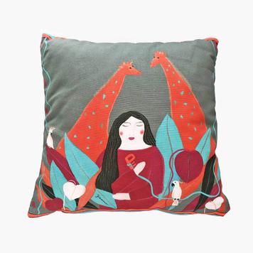 Eden - square cushion