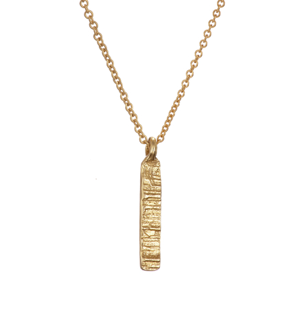 Solid Gold 9k Burren Necklace