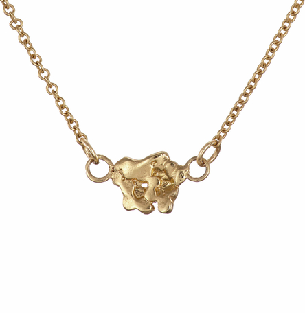 Solid Gold 9k The Giant's Causeway Necklace