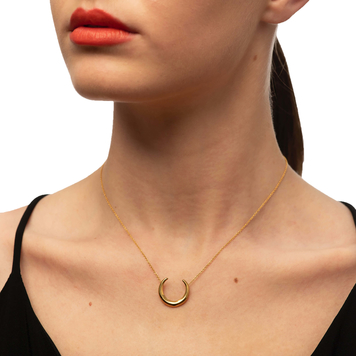 Solid Gold 9k Torc Necklace