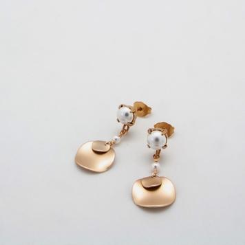 Double Disc Earrings