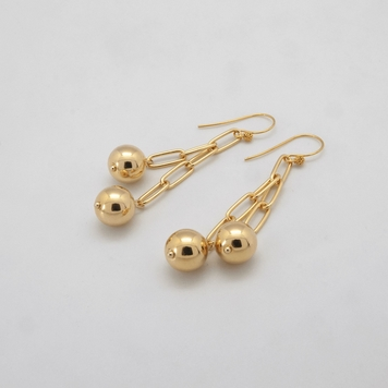 Ball + Chain Earrings
