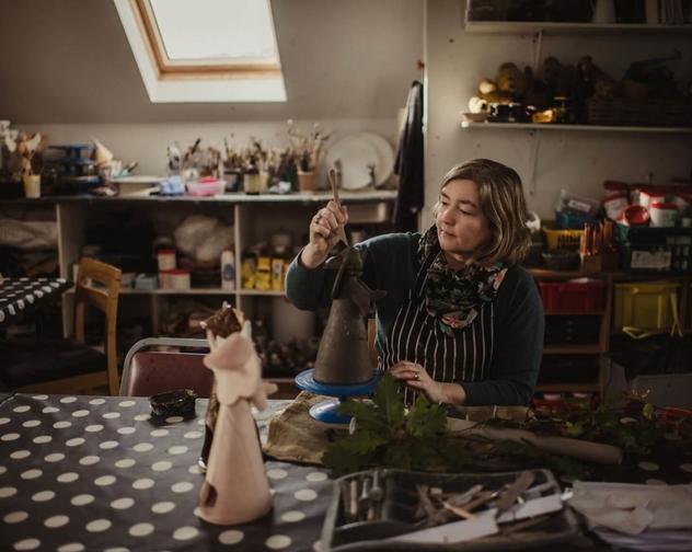 Anita Reynolds Art and Design Studio Ceramics 2