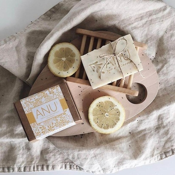 ANU Citrus Poppy Soap