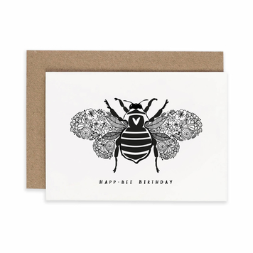 'Happ-Bee' Birthday Card