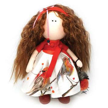 Robin - Handmade Collectible Irish Doll