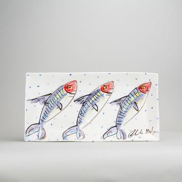 Medium Fish Rectangular Platter M10
