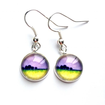 """Drop Earrings """"After the Storm"""""""