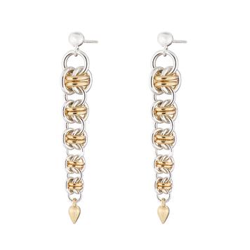 """""""Gold Orbit"""" Earrings"""
