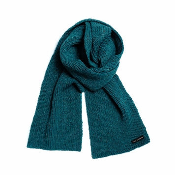 Donegal Wool Knit Scarf