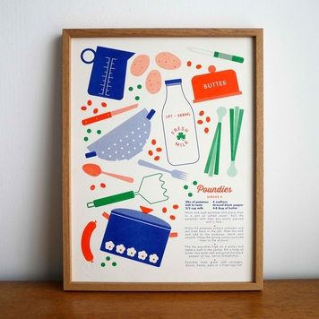 Riso Print - Poundies