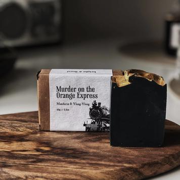 Murder on the Orange Express Soap Bar