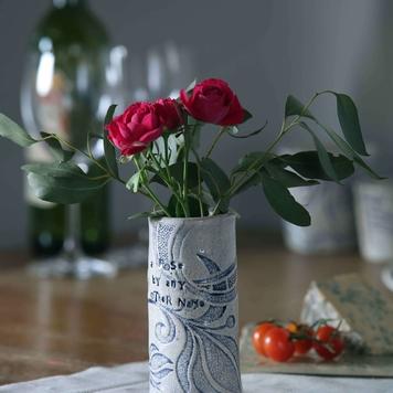 Small Impressed Vase