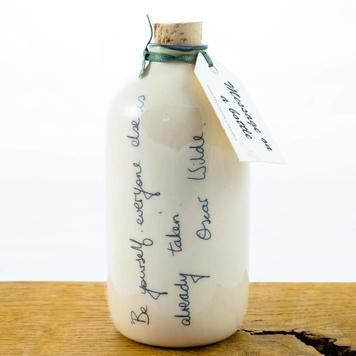 Message on a bottle Oscar Wilde