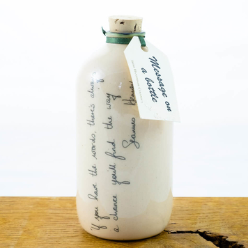 Message on a bottle Seamus Heaney