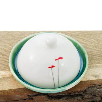 Butter dish Poppy Design