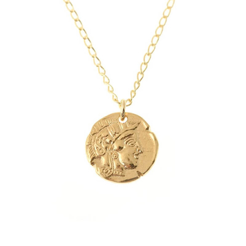 Athena Goddess Necklace