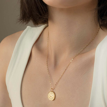Lucky Irish Coin Necklace