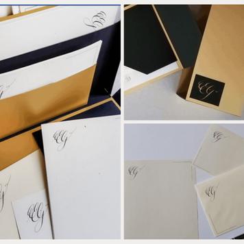 Personalised Stationery Gift Set – Handmade