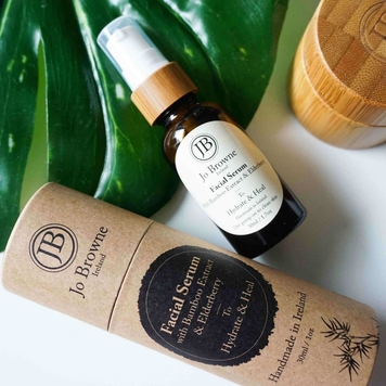 Facial Serum with Bamboo Extract and Elderberry