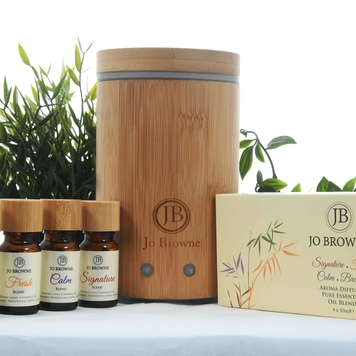 Aroma Bamboo Diffuser & Blend Gift Set