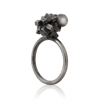 Concrete Finish Cluster Ring