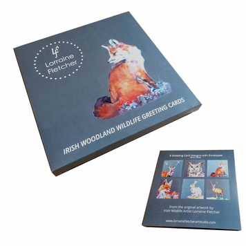 Woodland Wildlife Greeting Card Box