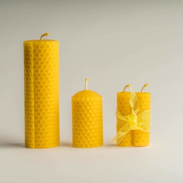 Beeswax Candle Gift