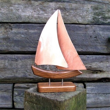 ZANZIBAR COPPER Yacht Model