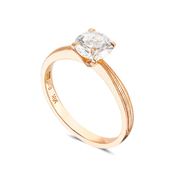 Mary Jane Solitaire Ring