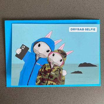 DryRab Selfie Card - Pack of 5