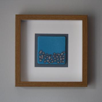 Cyan Blue 'Pebble Beach' Frame