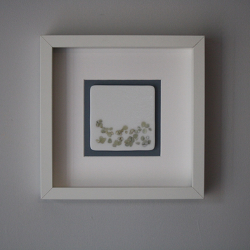 White 'Pebble Beach' Frame