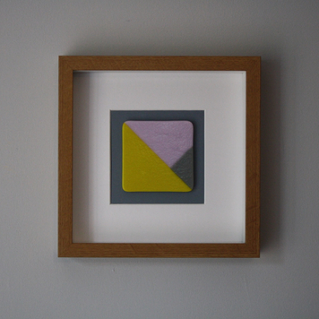Yellow and Pink Variation Frame