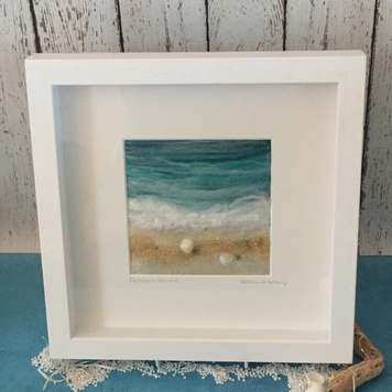 Textile Art - Golden Sands